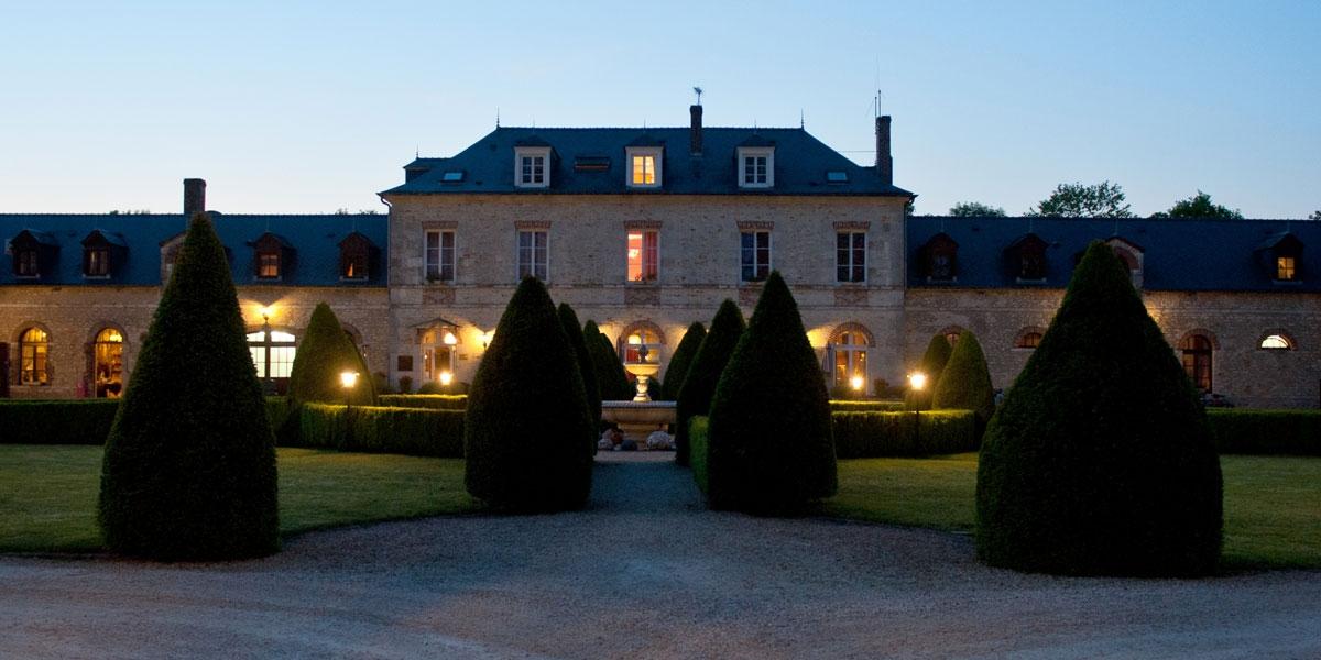 Le Château à la tombée de la nuit