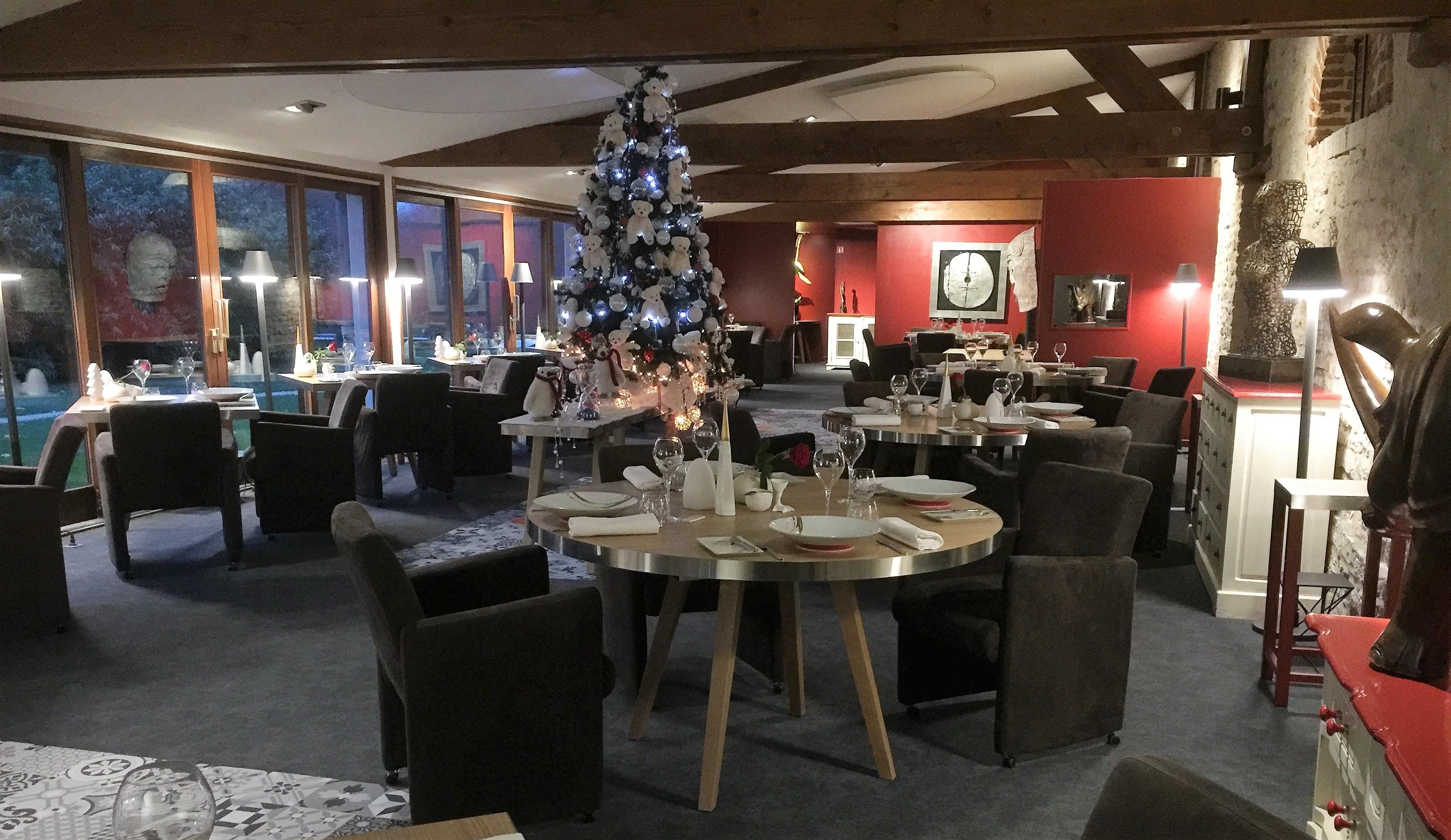 Le Restaurant au moment de Noël