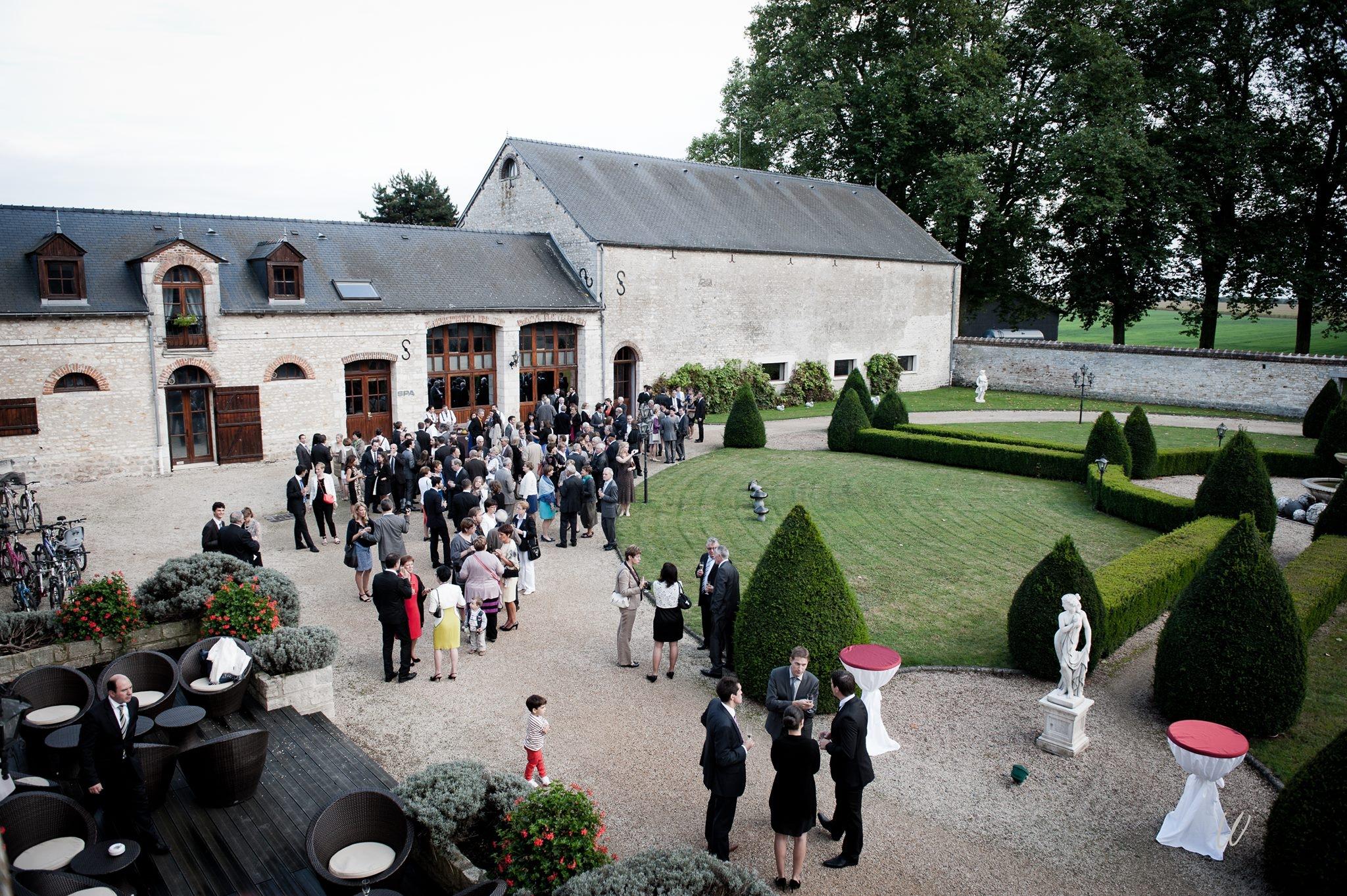 Vin d'honneur Jardin à la Française