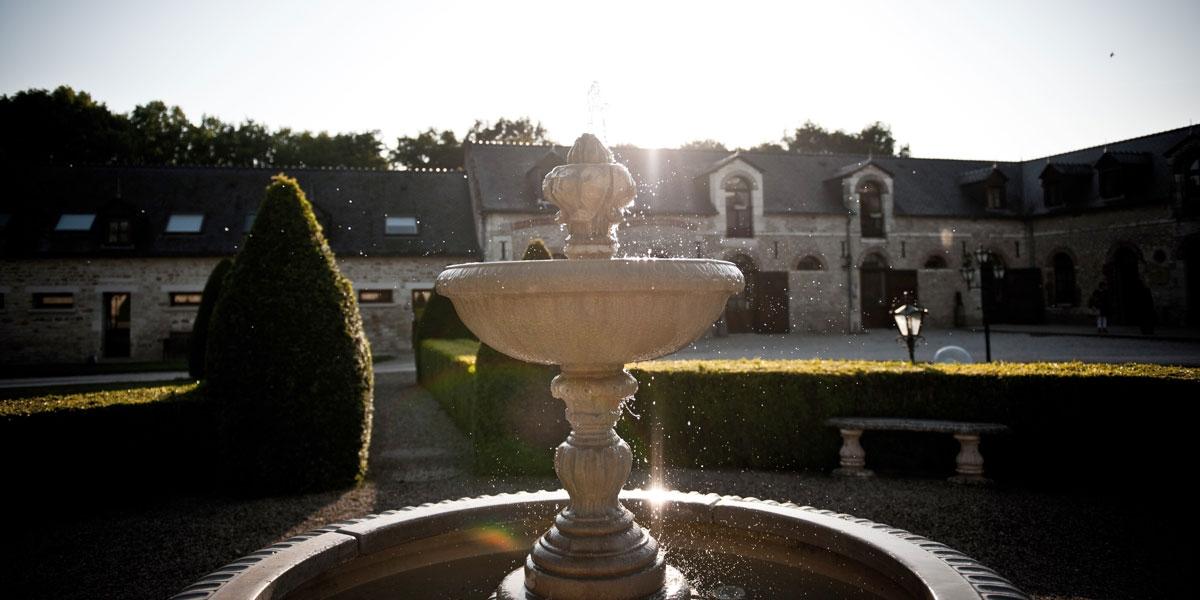 Fontaine du Jardin à la française